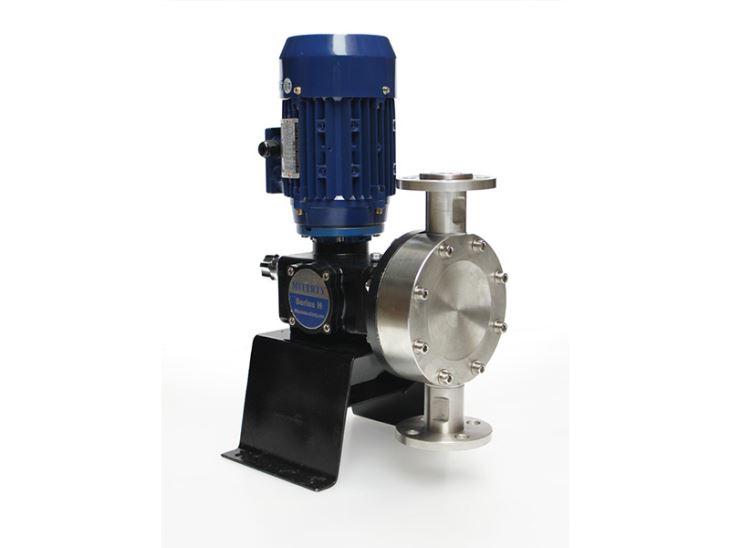 计量泵如何在运输途中进行调节?